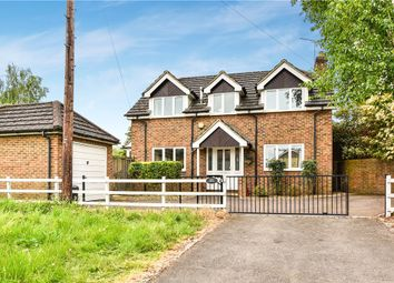 Thumbnail 3 bedroom detached house for sale in Taplow Road, Taplow, Maidenhead