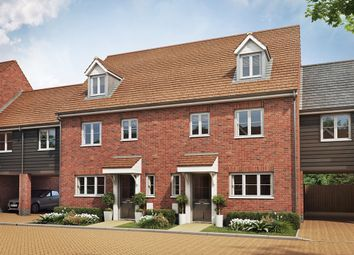 "Thumbnail 5 bedroom semi-detached house for sale in ""The Leicester Variant "" at Folly Lane, Hockley"