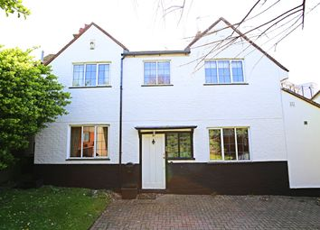 Thumbnail 4 bed detached house to rent in Marine Drive, Rottingdean