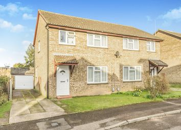 Thumbnail 3 bed semi-detached house for sale in Coleridge Close, Hitchin