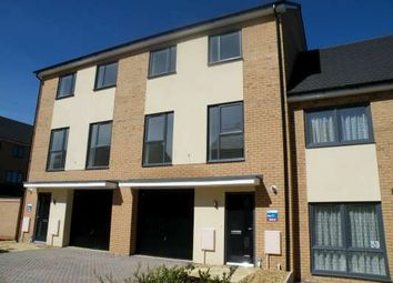 Thumbnail 4 bed town house to rent in St Johns Close, Longthorpe, Peterborough