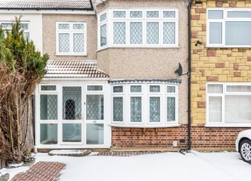 Thumbnail 3 bed terraced house for sale in Ford Close, Rainham