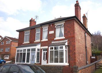 Thumbnail 3 bed semi-detached house for sale in Alfreton Road, Little Eaton, Derby
