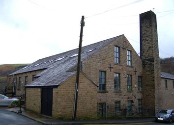 Thumbnail 3 bed flat for sale in Spring Street, Uppermill, Oldham