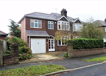 Thumbnail 4 bed semi-detached house for sale in Carlingford Road, Warrington, Cheshire