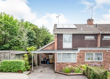 Thumbnail 3 bed end terrace house for sale in Apsley Close, Andover