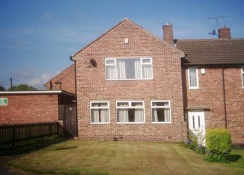 Thumbnail 2 bed semi-detached house to rent in Rufford Close, Chesterfield