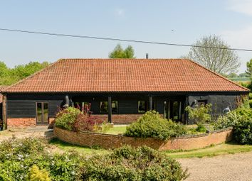 Thumbnail 4 bed barn conversion for sale in The Street, Ashwellthorpe, Norwich, Norfolk