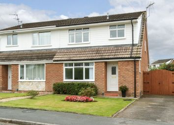 Thumbnail 3 bed semi-detached house for sale in Goodwood Close, Barnton, Northwich