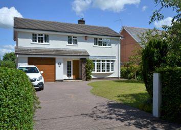 4 bed detached house for sale in New Platt Lane, Goostrey, Crewe CW4