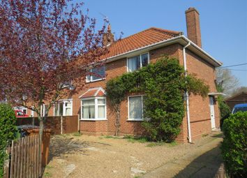 Thumbnail 3 bed semi-detached house for sale in Bexfield Close, Foulsham, Dereham
