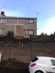 Thumbnail 3 bed end terrace house to rent in Deepglade Close St Thomas, Swansea