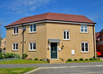 Thumbnail 3 bed semi-detached house for sale in Sumatra Crescent, Newton Leys, Bletchley, Milton Keynes