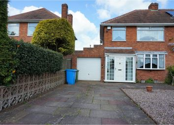 Thumbnail 3 bed semi-detached house for sale in School Road, Wolverhampton