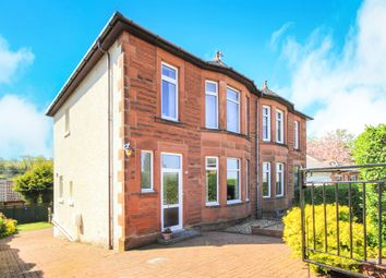 Thumbnail 3 bedroom semi-detached house for sale in Bradda Avenue, Burnside, Glasgow