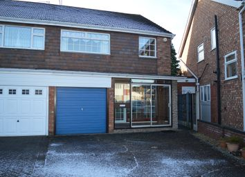 Thumbnail 3 bed semi-detached house for sale in Caernarvon Close, Willenhall