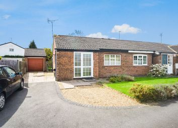 Thumbnail 2 bed semi-detached bungalow for sale in Atherstone Close, Oadby, Leicester