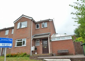 Thumbnail 3 bed end terrace house to rent in Valley Close, Colden Common, Winchester