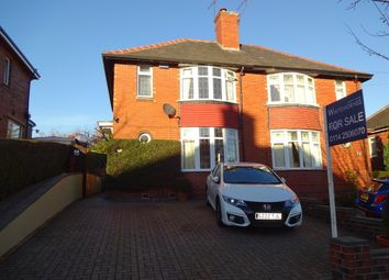 Thumbnail 3 bedroom semi-detached house for sale in Thorpe House Road, Sheffield