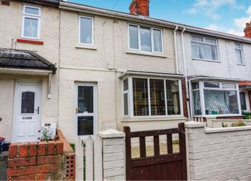 Thumbnail 3 bed terraced house for sale in Clarendon Road, Grimsby