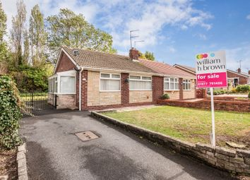 Thumbnail 2 bed semi-detached bungalow for sale in Arncliffe Drive, Ferrybridge, Knottingley