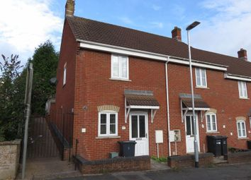 Thumbnail 3 bed terraced house to rent in Helliers Road, Chard