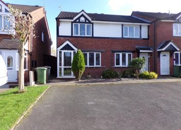 Thumbnail 2 bed terraced house for sale in Trevose Close, Walsall, West Midlands