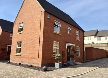 Thumbnail 3 bed detached house for sale in Bentley Road, Castle Donington, Derby