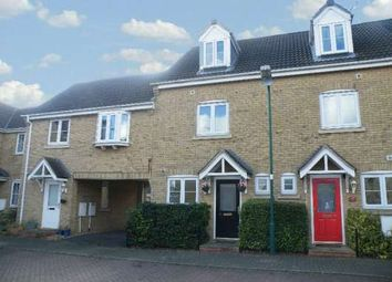 Thumbnail 3 bed town house to rent in Boleyn Avenue, Woodston, Peterborough