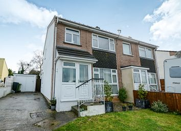 Thumbnail 4 bed semi-detached house for sale in Blindwell Avenue, Kingsteignton, Newton Abbot