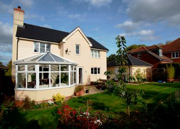 Thumbnail 4 bedroom detached house for sale in The Cobbs, Hartley Wintney, Hook
