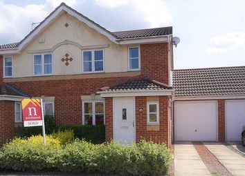Thumbnail 3 bed semi-detached house to rent in Rainsborough Way, York