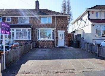 Thumbnail 2 bedroom end terrace house for sale in Old Oscott Lane, Birmingham