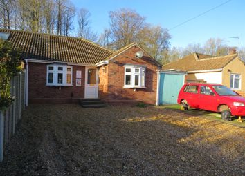 Thumbnail 3 bed semi-detached bungalow for sale in Longwater Lane, New Costessey, Norwich