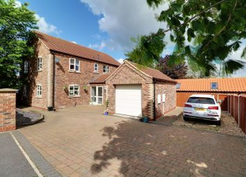 Thumbnail 4 bed detached house for sale in Chapel Lane, Wrawby, Brigg