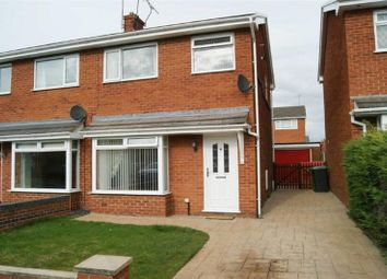 Thumbnail 3 bedroom semi-detached house to rent in Mere Crescent, Wrexham