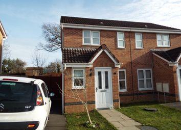 Thumbnail 2 bed semi-detached house for sale in 5 Leucarcum Court, Loughor, Swansea