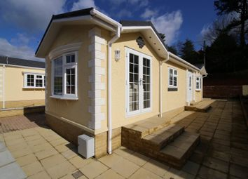 Thumbnail 2 bed mobile/park home for sale in Underhill Park, Tiverton