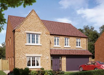 "Thumbnail 5 bed detached house for sale in ""The Kirkham"" at Boughton Road, Moulton, Northampton"