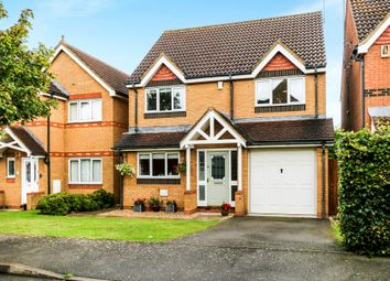 Thumbnail 4 bed detached house for sale in Burrows Vale, Brixworth, Northampton