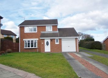 Thumbnail 3 bedroom detached house for sale in Ashtree Drive, Bedlington