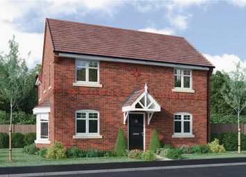 "Thumbnail 3 bed detached house for sale in ""Stanford"" at Lowbrook Lane, Tidbury Green, Solihull"