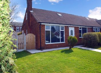 Thumbnail 3 bed semi-detached bungalow to rent in Egremont Road, Milnrow, Rochdale