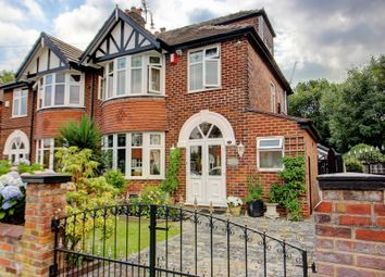 Thumbnail 4 bed semi-detached house for sale in Brackley Road, Stockport