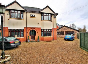 Thumbnail 5 bedroom detached house for sale in Newton Road, Lowton, Lancashire