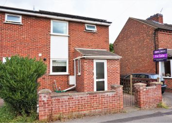 Thumbnail 3 bed semi-detached house for sale in Leicester Road, Measham Swadlincote