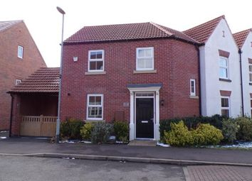 Thumbnail 3 bed semi-detached house for sale in Pickwell Drive, Syston, Leicester, Leicestershire