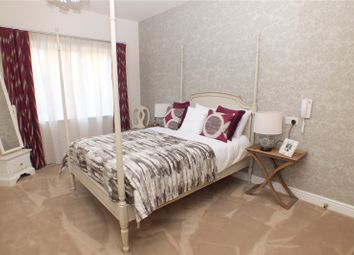 Thumbnail 2 bed flat for sale in Keble Court, Redfields Lane, Church Crookham, Fleet
