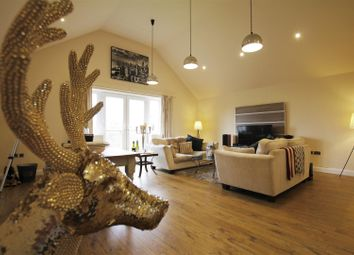 Thumbnail 2 bed flat for sale in Penthouse, 23 Belmont Park, Holymoorside, Chesterfield
