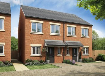 Thumbnail 2 bedroom semi-detached house for sale in Burton Road, Castle Gresley, Swadlincote